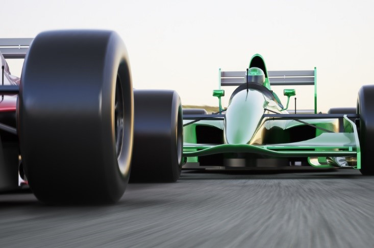 Racing cars from F1